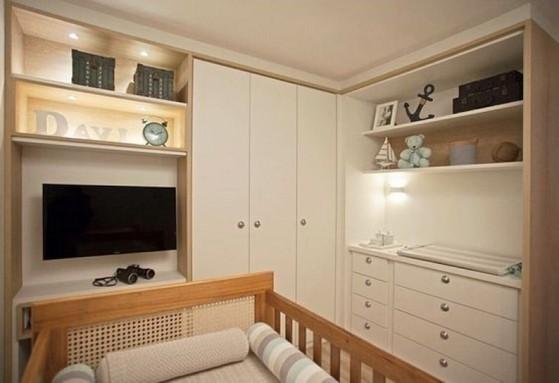 Quarto Planejado de Bebe Preço Bertioga - Quarto Planejado Apartamento Pequeno