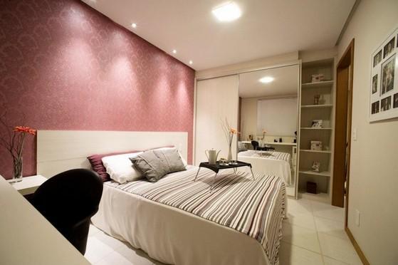 Quarto Planejado de Casal Preço Riviera de São Lourenço - Quarto Planejado Apartamento