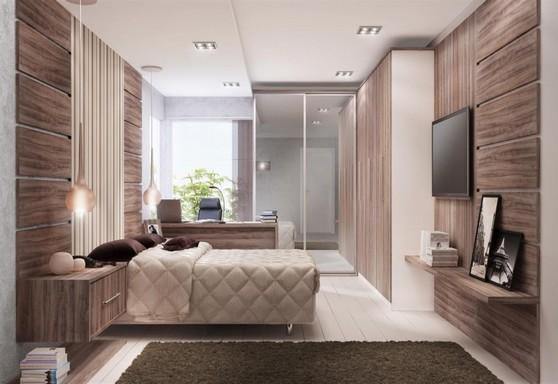 Quarto Planejado de Casal Guarulhos - Quarto Planejado Apartamento Pequeno