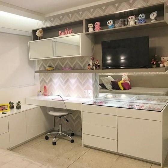 Quarto Planejado Feminino Preço Guarulhos - Quarto Planejado Apartamento