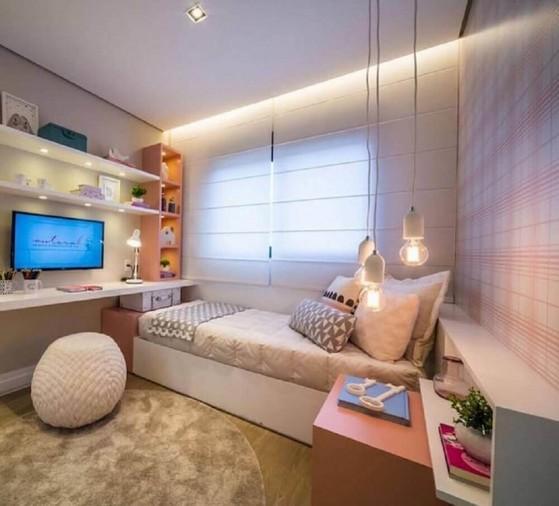 Quarto Planejado Solteiro Preço Riviera de São Lourenço - Quarto Planejado Apartamento Pequeno