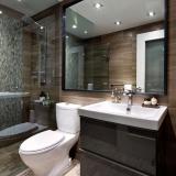 banheiro planejado com espelho