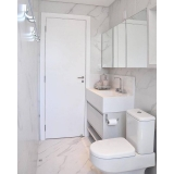 banheiro planejado de apartamento preço Alphaville