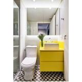 banheiro planejado para apartamento pequeno preço Poá