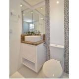 banheiro planejado pequeno preço Zona Leste