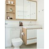 banheiro planejado pequeno Mogi das Cruzes