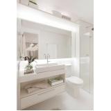 banheiros planejados apartamento Bertioga