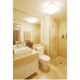 banheiros planejados de apartamento Poá