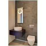 banheiros planejados para apartamento pequeno Alphaville