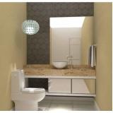 banheiros planejados simples São José dos Campos