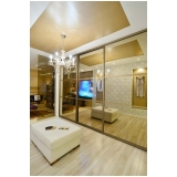 closet planejado com espelho preço Arujá