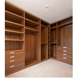 closet planejado em madeira preço Zona Leste