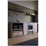 cozinha planejada de alvenaria