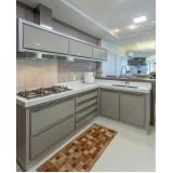 cozinha planejada de canto preço Suzano