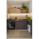 cozinha planejada de canto Suzano