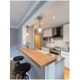 cozinhas planejadas de alvenaria Alphaville
