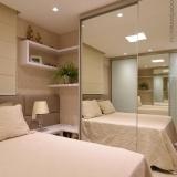 dormitório casal planejado pequeno preço Bertioga