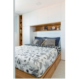 dormitório casal planejado pequeno Alphaville