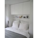 dormitório planejado casal pequeno Alphaville