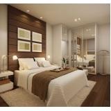 dormitório planejado de casal Riviera de São Lourenço
