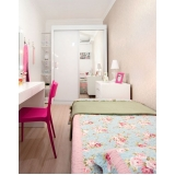 dormitório planejado solteiro feminino preço Riviera de São Lourenço