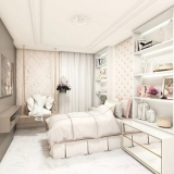 dormitório planejado solteiro feminino Bertioga