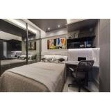 dormitório planejado solteiro Bertioga