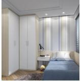 dormitórios planejados solteiro masculino Poá