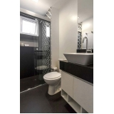onde encontro banheiro planejado apartamento Bertioga