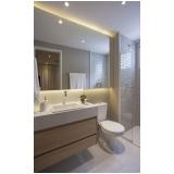 onde encontro banheiro planejado madeira Bertioga