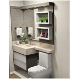 onde encontro banheiro planejado moderno pequeno São José dos Campos