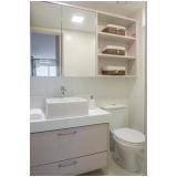 onde encontro banheiro planejado para apartamento pequeno Zona Leste