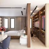 onde encontro quarto planejado com closet Riviera de São Lourenço