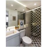 quanto custa banheiro planejado apartamento Poá