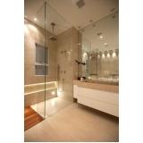 quanto custa banheiro planejado com box Mogi das Cruzes