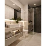 quanto custa banheiro planejado com cuba Alphaville