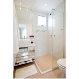 quanto custa banheiro planejado de apartamento Poá