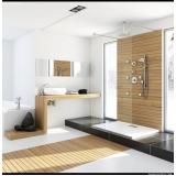 quanto custa banheiro planejado madeira Suzano