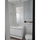 quanto custa banheiro planejado pequeno Riviera de São Lourenço