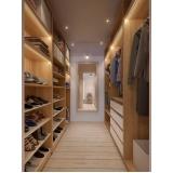 quanto custa closet planejado em madeira São José dos Campos