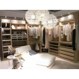 quanto custa closet planejado grande Suzano