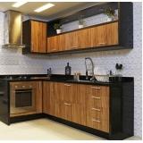 quanto custa cozinha planejada de madeira Poá