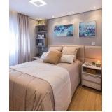 quanto custa quarto planejado apartamento pequeno Poá