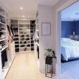 quarto planejado com closet Bertioga
