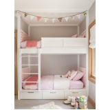 quartos planejados com duas camas Suzano